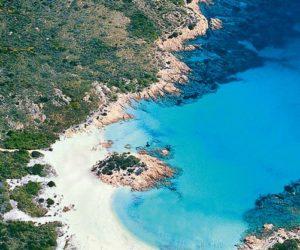 Arzachena Costa Smeralda Portu di Li Coggi 5 aerea da sud-ovest